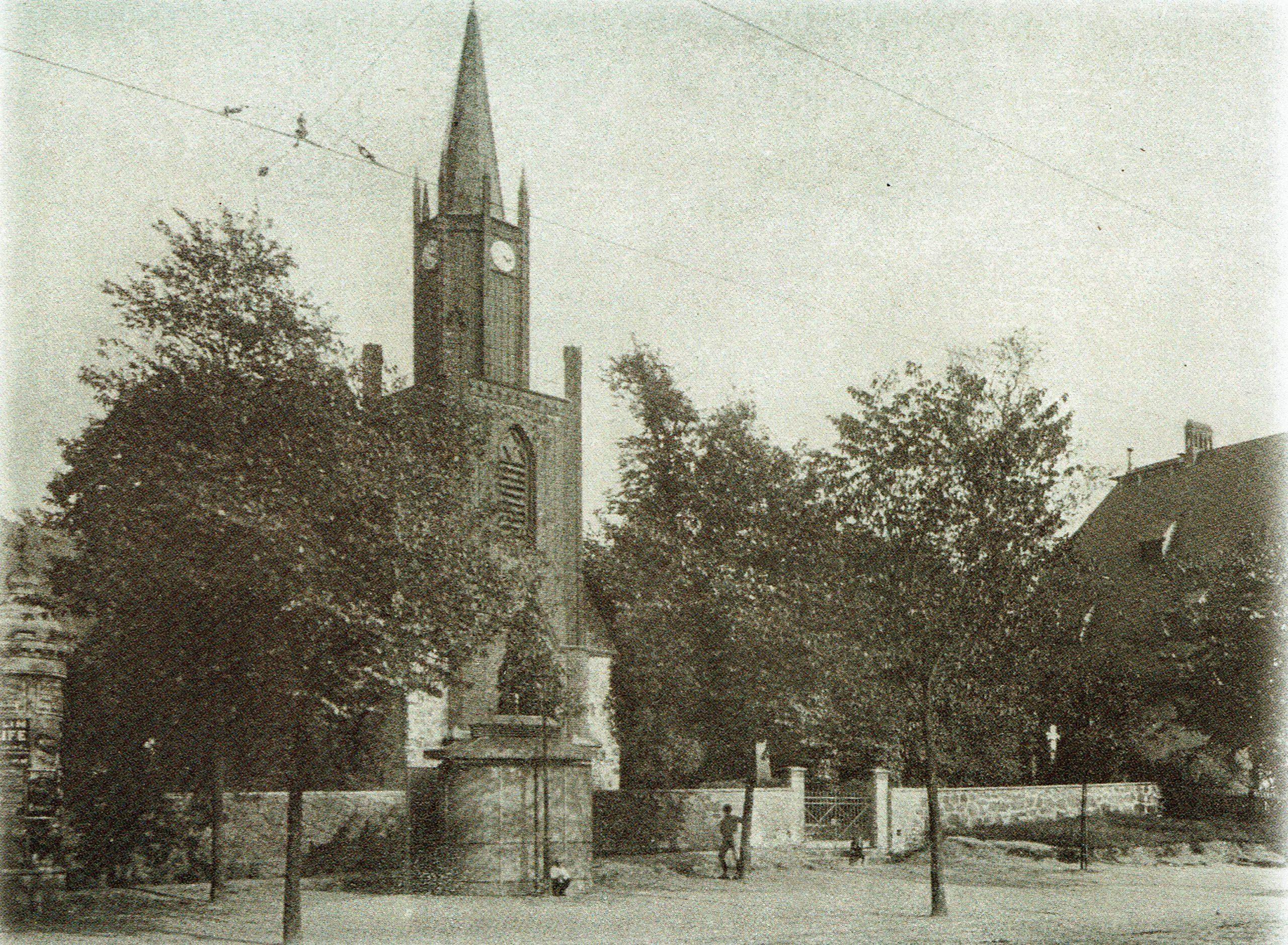 Weissensee Kirche Falkenberger Straße