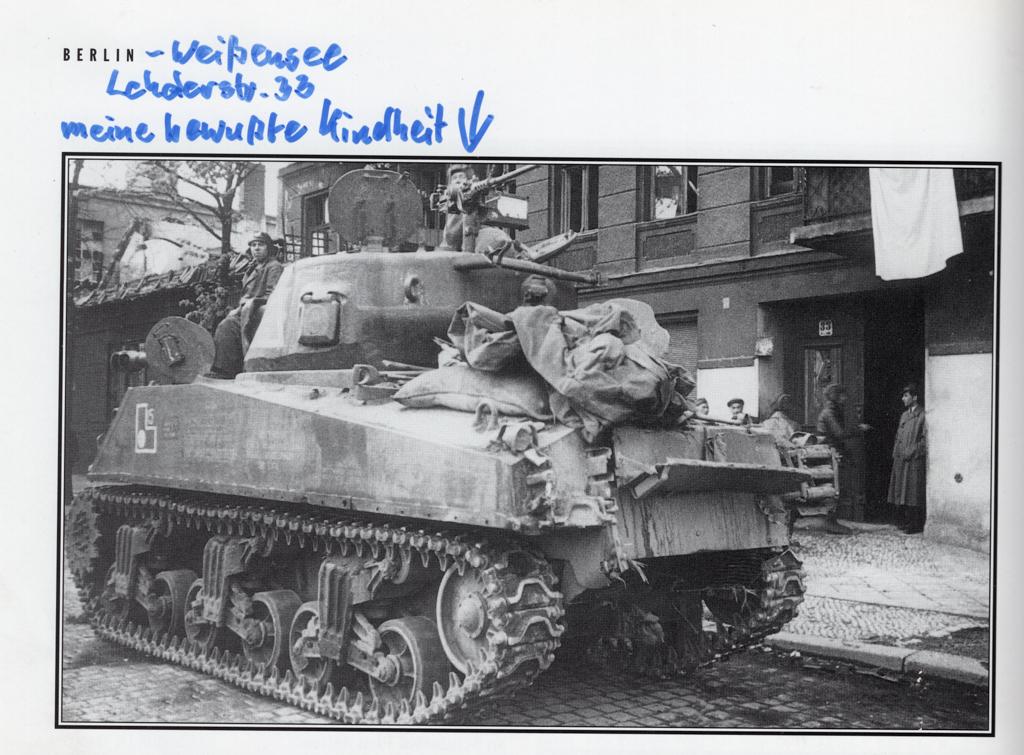 Weißensee - Geschichten erzählen - Arno Kiehl - Lehderstraße 1945 - © Arno Kiehl