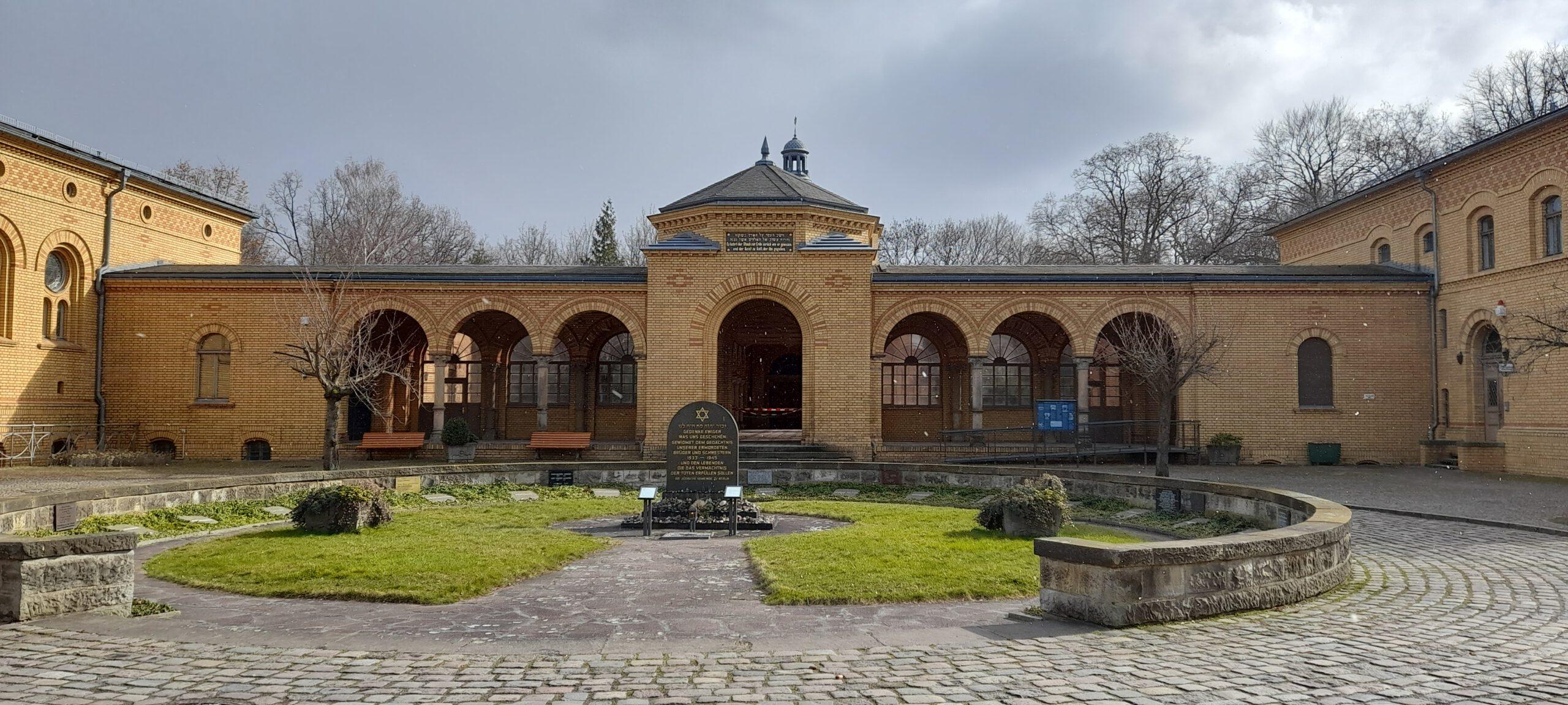 Weißensee-Spaziergang - Widerstand gegen Diskriminierung-Jüdischer Friedhof - © Uta Popkes